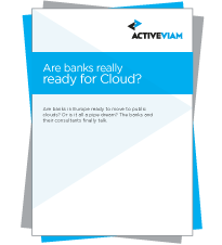 Survey report: Are Banks really ready for Cloud?