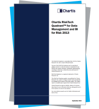 Chartis RiskTech Quadrant™ for Data Management and BI for Risk 2013